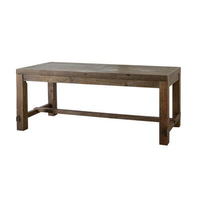 AZUMAYA ダイニングテーブル キャラバン 幅180cm ブラウン WE-312TBR