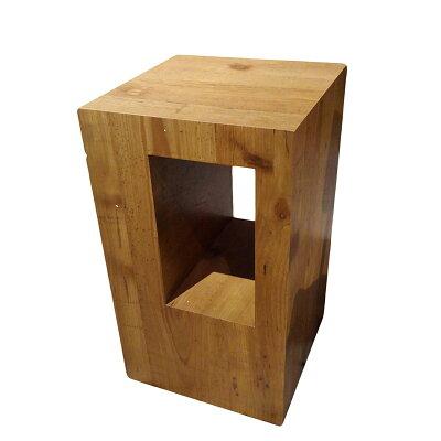 Logic ロジック サイドテーブル おしゃれ テーブル 天然木 ナイトテーブル マガジンラック SO-332WAL SGS-332LBR