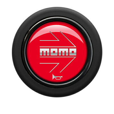 MOMO モモ ホーンボタン HB-19 MOMO ARROW RED モモアローレッド