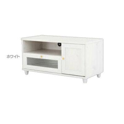 佐藤産業 テレビ台 ローボード VR45-90L WH