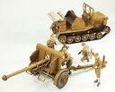 プラモデル グランドアーマーシリーズ 1/35 日本陸軍98式4t牽引車シケ 機動90式野砲 付 ピットロード