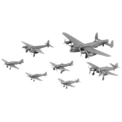1/700 WWII イギリス空軍機セット 1 ピットロード PT S32 イギリスクウグンキセット