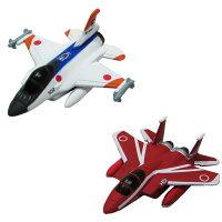 マグネットプレーン 航空自衛隊セット 7 XF-2A 試作2号機、F-15J 航空自衛隊50周年記念塗装機 各1機入り ピットロード