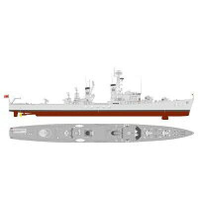 1/700 海上自衛隊 護衛艦 DDG-163 あまつかぜ 就役時 プラモデル ピットロード