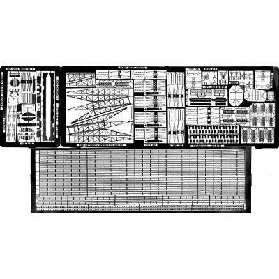 ピットロード 1/350 WWII 英海軍戦艦キングジョージ〓級用 (エッチングパーツ)