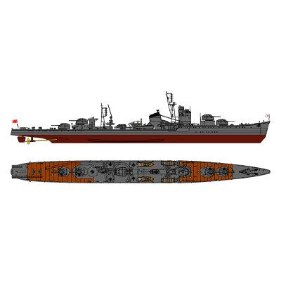 1/700 スカイウェーブシリーズ 日本海軍特型駆逐艦 東雲 しののめ プラモデル ピットロード