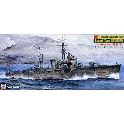 プラモデル スカイウェーブシリーズ 1/700 日本海軍海防艦 択捉型 ピットロード