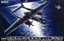 グレートウォールホビー プラモデル 1/48 ノースロップ P-61B ブラックウィドウ ラストショットダウン1945 ピットロード