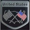 ステッカー 車 国旗 アメリカン おしゃれ バイク かっこいい スーツケース