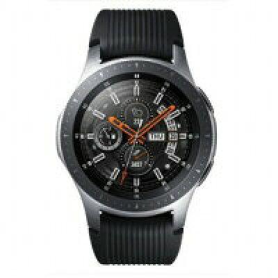 SAMSUNG サムスン Galaxy Watch (46mm) SM-R800NZSAXJP シルバー 通常モードの利用で約3日*4、省電力モードの利用で最大4日間