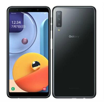 SAMSUNG Galaxy A7 ブラック SM-A750C