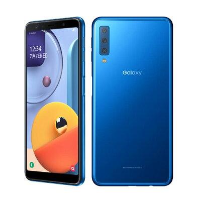 SAMSUNG Galaxy A7 ブルー SM-A750C SIMフリー