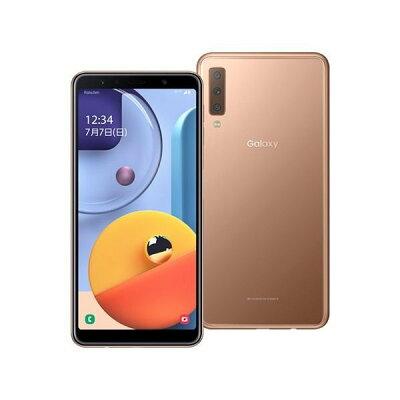 SAMSUNG Galaxy A7 ゴールド SM-A750C