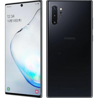 SAMSUNG Galaxy Note10+ オーラブラック SM-N975C