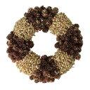 大橋新治商店 木の実のリース natural wreath リース   ブラウン 28-031