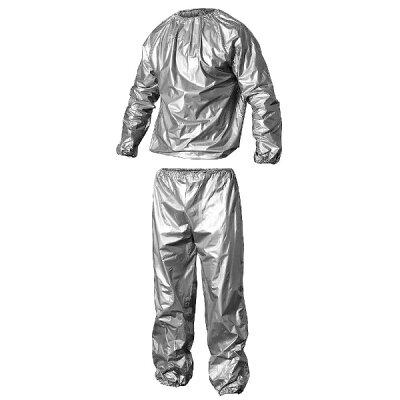 AUSSIE サウナスーツ インナーサウナスーツ 汗男 アセオ! シルバー/ウエスト75~95cm、身長163~180cm