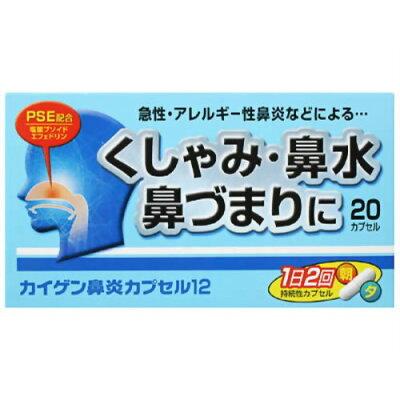 カイゲン鼻炎カプセル12 20カプセル