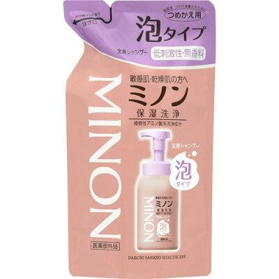 ミノン 全身シャンプー 泡タイプ 詰替え用(400ml)