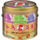 金鳥の渦巻 蚊取り線香 3種の香り 缶 (アロマローズ・ラベンダー・森の香り)(30巻)
