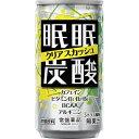 眠眠炭酸 クリアスカッシュ(185ml)