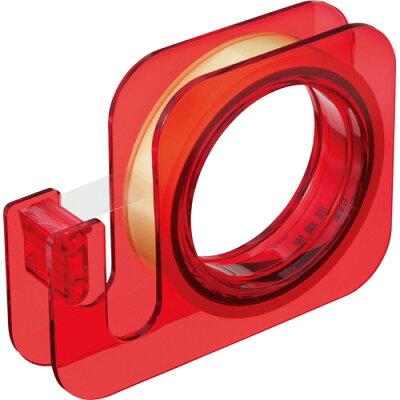 ニチバン セロテープ 大巻 ハンドカッター 18mm×20m 赤 TC-18E1N 1個