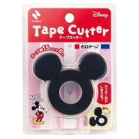 セロテープ テープカッター ミッキーマウス CTD-15BK ブラック CTD-15RD レッド CTD-15PK ピンク