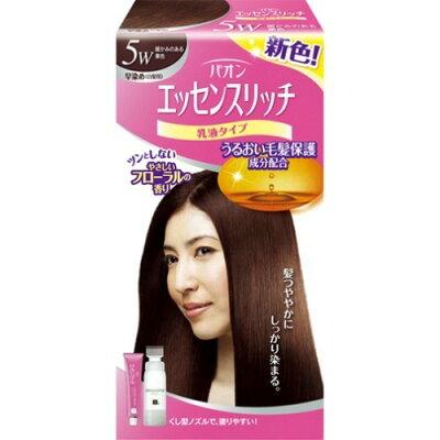 パオン エッセンスリッチ 乳液タイプ 5W 暖かみのある栗色(1セット)