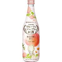 養命酒製造 フルーツとハーブのお酒 香る白桃と杏仁 700ml