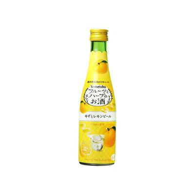 養命酒製造 フルーツとハーブのお酒 ゆずとレモンピール 300ml