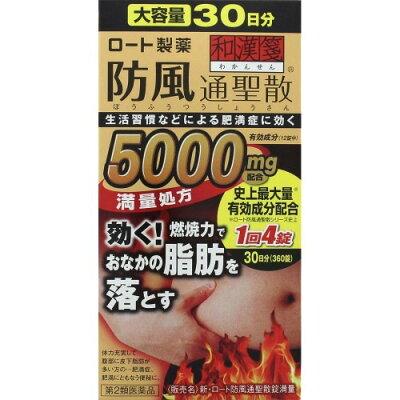 和漢箋 新・ロート防風通聖散錠満量(360錠)
