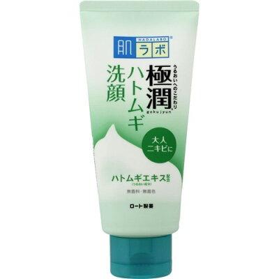 肌ラボ 極潤 ハトムギ洗顔フォーム(100g)