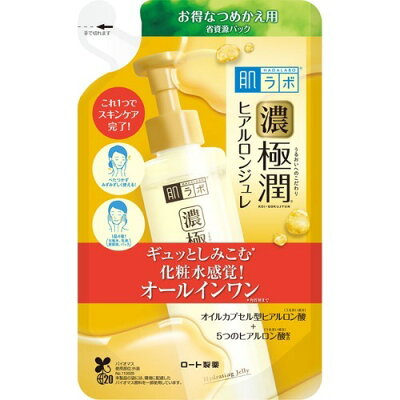 肌ラボ 極潤 ヒアルロンジュレ つめかえ用(150ml)
