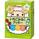 和光堂 1歳からのおやつ+DHA いちごみるくクッキー(48g(16g*3袋入))