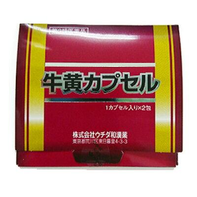 第3類医薬ウチダの牛黄カプセル