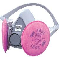 3M 取替え式 防じんマスク 6000/2091-RL3 Mサイズ(1コ入)