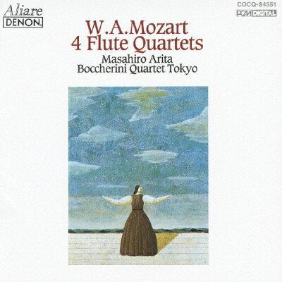 モーツァルト:フルート四重奏曲全集/CD/COCQ-84551