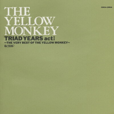 TRIAD YEARS act I-THE VERY BEST OF THE YELLOW MONKEY-/CD/COCA-13914