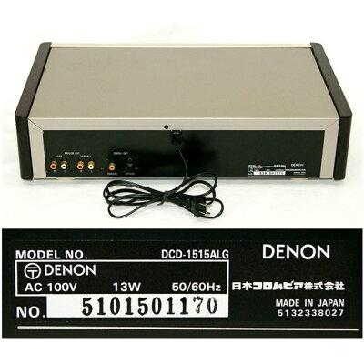 デノン 業務用ブルーレイプレーヤー DCD-1515ALG