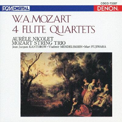 モーツァルト:フルート四重奏曲全集/CD/COCO-73307