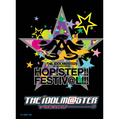 THE IDOLM@STER 8th ANNIVERSARY HOP!STEP!!FESTIV@L!!! 【Blu-ray3枚組 BOX 完全初回限定生産】/Blu-ray Disc/XT-3324