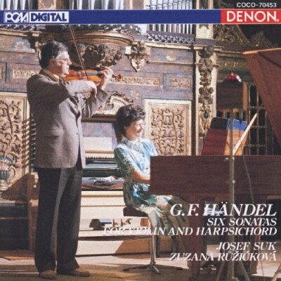ヘンデル:ヴァイオリン・ソナタ集/CD/COCO-70453