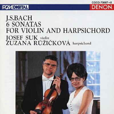 J.S.バッハ:ヴァイオリンとハープシコードのためのソナタ BWV.1014-1019(全6曲)/CD/COCO-70687