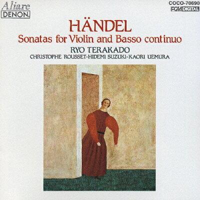 ヘンデル:ヴァイオリン・ソナタ集/CD/COCO-70690