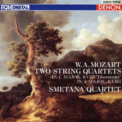 モーツァルト:弦楽四重奏曲 第19番≪不協和音≫ ハ長調 K.465/第18番 イ長調 K.464/CD/COCO-70794