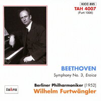 ベートーヴェン:英雄(1952ベルリン)/CD/KICC-895