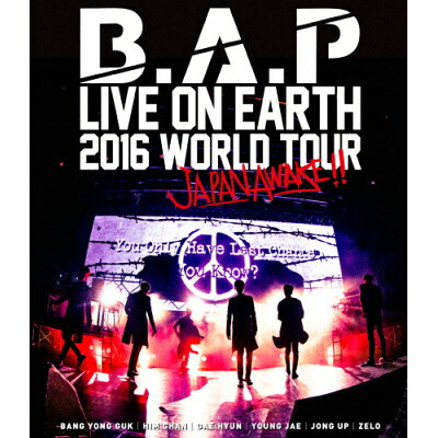 B.A.P LIVE ON EARTH 2016 WORLD TOUR JAPAN AWAKE!!/Blu-ray Disc/KIXM-260