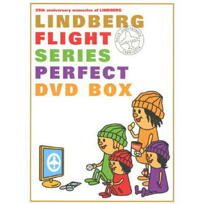 LINDBERG FLIGHT シリーズ パーフェクト DVD BOX/DVD/TEBS-14081