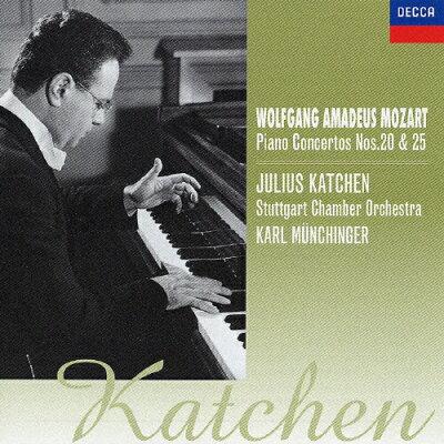 モーツァルト:ピアノ協奏曲第20番&第25番/CD/UCCD-3300