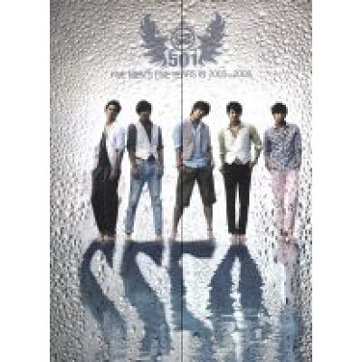 SS501 FIVE MEN'S FIVE YEARS IN 2005-2009 MBC DVD COLLECTION 2010 DELUXE VERSION DVD/DVD/POBD-60372