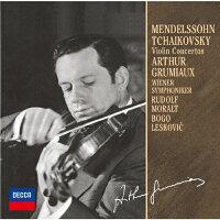 メンデルスゾーン&チャイコフスキー:ヴァイオリン協奏曲(モノラル録音)/CD/UCCD-9809